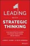 Leading with Strategic Thinking 1st Edition