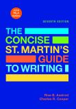 The Concise St. Martin's Guide to Writing with 2016 MLA Update 7th Edition