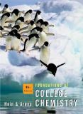 Foundations of College Chemistry 9780471328186
