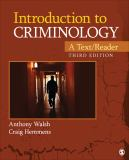 Introduction to Criminology 3rd Edition