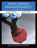 Exploring Management 3rd Edition