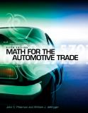 Math for the Automotive Trade 9781111318239