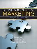 Business to Business Marketing 1st Edition