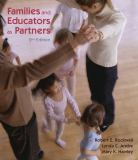 Families and Educators As Partners 9781428318281