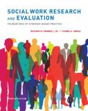 Social Work Research and Evaluation 9780199988310