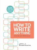 How to Write Anything with 2009 MLA and 2010 APA Updates 9780312668310