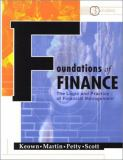 Foundations of Finance 9780130198389
