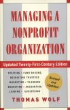 Managing a Nonprofit Organization 21st Edition