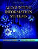 Accounting Information Systems (13th Edition) 13th Edition
