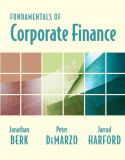Fundamentals of Corporate Finance plus MyFinanceLab Student Access Kit 9780321558541
