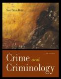 Crime and Criminology 11th Edition