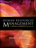 Human Resources Management for Public and Nonprofit Organizations 4th Edition