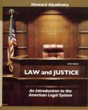 Law and Justice 6th Edition