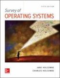 Survey of Operating Systems, 5e 5th Edition