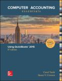 Computer Accounting Essentials Using Quickbooks 2015 8th Edition