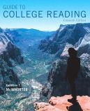Guide to College Reading Plus MyReadingLab with Pearson EText -- Access Card Package 11th Edition