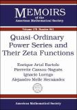 Quasi-Ordinary Power Series and Their Zeta Functions 9780821838761