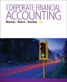Corporate Financial Accounting 13th Edition