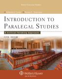 Introduction to Paralegal Studies 5th Edition