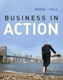 Business in Action 6th Edition