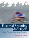 Financial Reporting and Analysis (with ThomsonONE Printed Access Card) 13th Edition