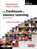The Continuum of Literacy Learning, Grades Prek-8 2nd Edition