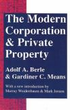 The Modern Corporation and Private Property 9780887388873