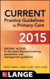 CURRENT Practice Guidelines in Primary Care 2015 13th Edition