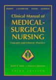 Clinical Manual of Medical-Surgical Nursing 9780801678899