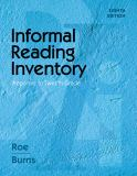 Informal Reading Inventory 8th Edition