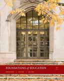 Foundations of Education 9780495808954