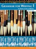 Grammar for Writing 2nd Edition