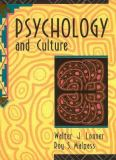 Psychology and Culture 1st Edition