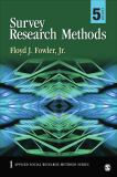 Survey Research Methods 5th Edition