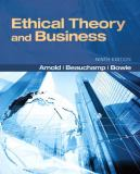 Ethical Theory and Business 9780205169085