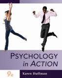 Psychology in Action - Chapters 1-16 9780470379110