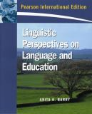 Linguistic Perspectives on Language and Education 9780132069113