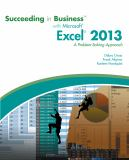 Succeeding in Business with Microsoft® Excel® 2013 1st Edition