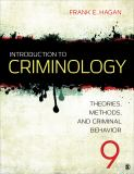 Introduction to Criminology 9th Edition