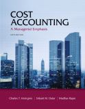 Cost Accounting 9780132109178
