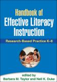 Handbook of Effective Literacy Instruction 1st Edition