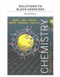 Solutions to Black Exercises for Chemistry 9780321949271