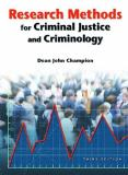 Research Methods for Criminal Justice and Criminology 3rd Edition