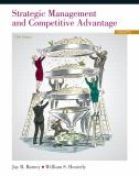 Strategic Management and Competitive Advantage 5th Edition