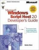 Microsoft Windows Script Host 2.0 Developer's Guide 9780735609310