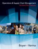 Operations and Supply Chain Management for the 21st Century 1st Edition