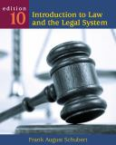 Introduction to Law and the Legal System 9780495899334