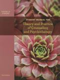 Student Manual for Theory and Practice of Counseling and Psychotherapy 9781133309345