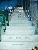 Statistical Techniques in Business and Economics with Student CD 14th Edition