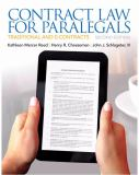 Contract Law for Paralegals 2nd Edition